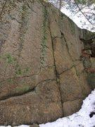 Rock Climbing Photo: Small Wall. Bow Ridge 15.