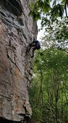 Rock Climbing Photo: Removing the original compression bolts on Gizmosi...