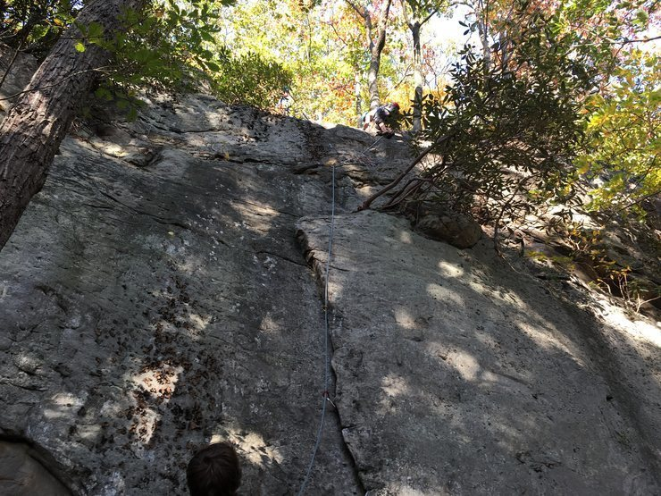 Rock Climbing Photo: Greenback