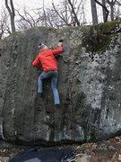 Rock Climbing Photo: Zane climbing Zygot