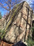 Rock Climbing Photo: West Face slab.