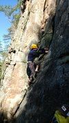 Rock Climbing Photo: Can also be easily top roped.