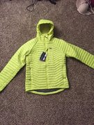 Outdoor Research Mens Verismo Hooded Jacket size Medium. New With Tags!  $100
