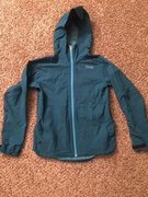 Mens Trew Soft Shell Jacket size medium. Worn once but is a little too small for me. Awesome jacket. Has pit zips and is in mint condition. $70 OBO