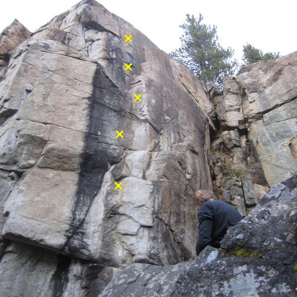 Rock Climbing Photo: brian's climb
