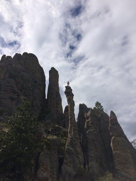 Rock Climbing Photo: parking lot hero shot