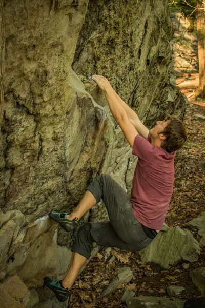 Rock Climbing Photo: Cyrax