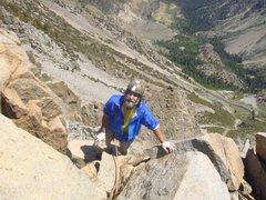 Rock Climbing Photo: Ed Hartouni of the FA of the Gabel-Hartouni route ...