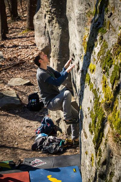 Rock Climbing Photo: Visitation
