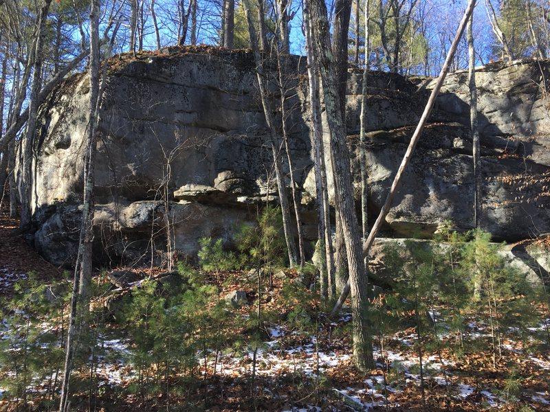 Main crag.