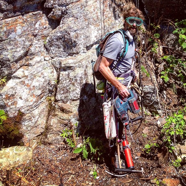 Rock Climbing Photo: Capitaine Capote