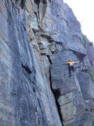 Rock Climbing Photo: Pierre qui se la send!