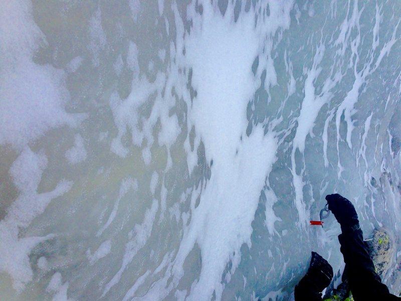 Rock Climbing Photo: Sea of Ice!!!