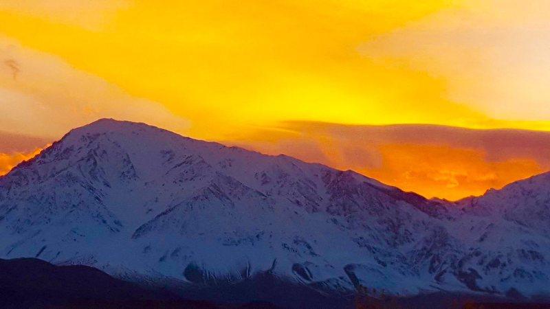 Ahhhh!!!! Sierra winter sunsets!!!
