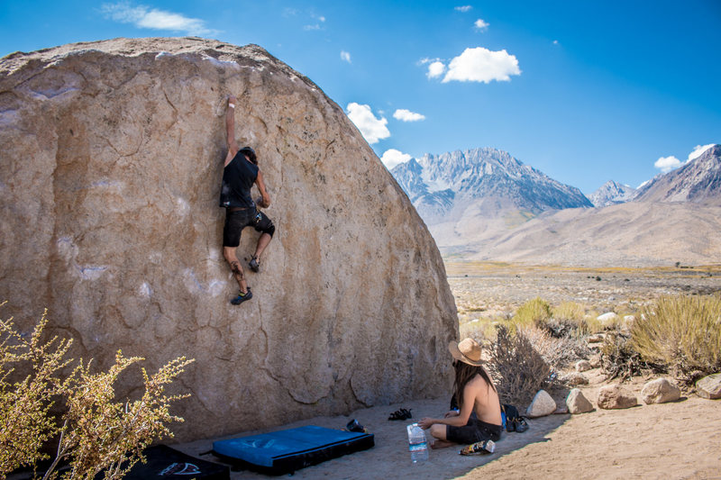 Rock Climbing Photo: Nicholas Rondilone sending Birthday Direct on his ...