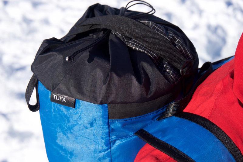 Uretek Zip Pocket, Dyneema hydro port, G-hook Rope Catch.  Helmet Tabs