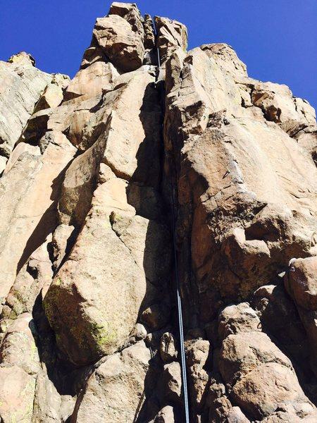 Rock Climbing Photo: A close view of the climb.