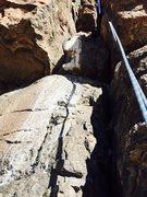Rock Climbing Photo: The bird poop is easily avoidable.