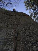 Rock Climbing Photo: Wooopeee I did it. :)