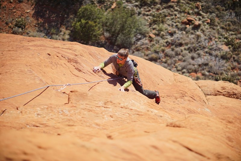 Bean styling the second pitch. <br> <br> (Photo: Giselle Fernandez)