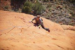 Rock Climbing Photo: Bean cruising P2.   (Photo: Giselle Fernandez)