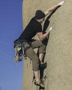 Rock Climbing Photo: My friend Kyle sending Robbins