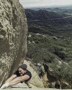Lead Crack Climb