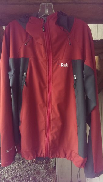 Rock Climbing Photo: Rab Jacket