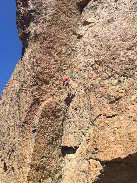 Rock Climbing Photo: Kunza Korner