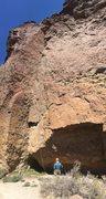 Rock Climbing Photo: Kunza Korner at the anchor