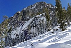 Rock Climbing Photo: A little out of Condition 3/1/17.  More snow expec...