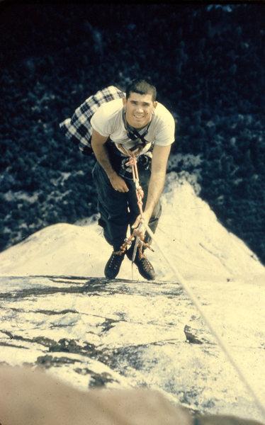 Rock Climbing Photo: Nose, 1957(?).