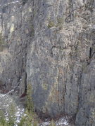 Rock Climbing Photo: Lower Wall from SW