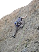 Rock Climbing Photo: Keeping it together and gunning for the anchors on...