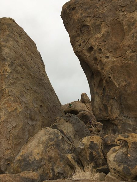 Gigantic virgin pillars