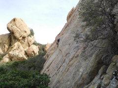 Rock Climbing Photo: Route #3.