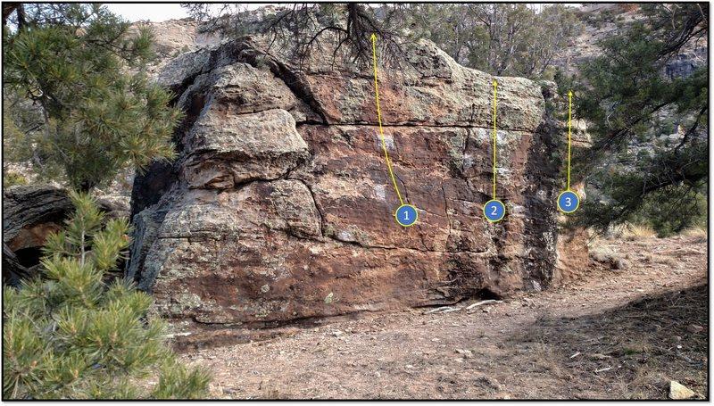 Rock Climbing Photo: 1. Street Spirit.
