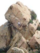 Rock Climbing Photo: Climbing the Outsider.