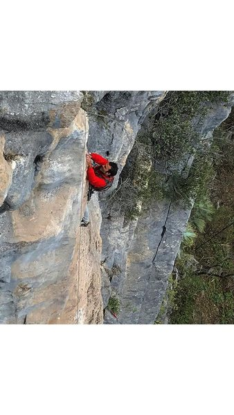 Rock Climbing Photo: Rodrigo