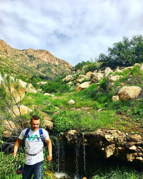 Rock Climbing Photo: Perfect day at El Cajon Mountain