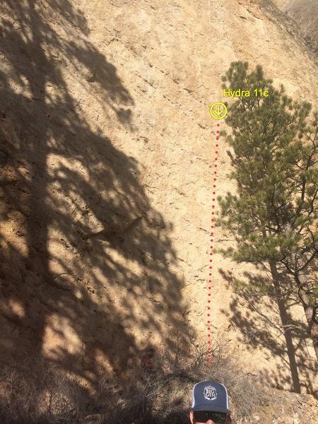 Rock Climbing Photo: Hydra