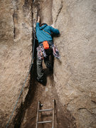 Rock Climbing Photo: Ladder start