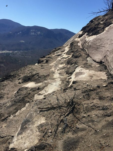 Rock Climbing Photo: Top of Snap, Crackle, Pop after the Party Rock Fir...