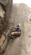 Rock Climbing Photo: Felix's struggle was REAL!