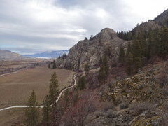 Rock Climbing Photo: WCT - looking north from the top of Parkinglot Wal...