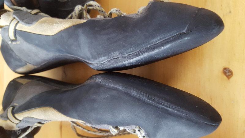 Rock Climbing Photo: scarpa technos
