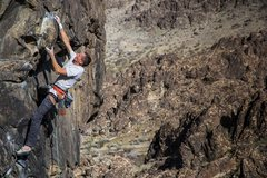 Rock Climbing Photo: Sam Owings feeling the Vertigo