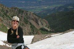 Rock Climbing Photo: Happy on Sneffels