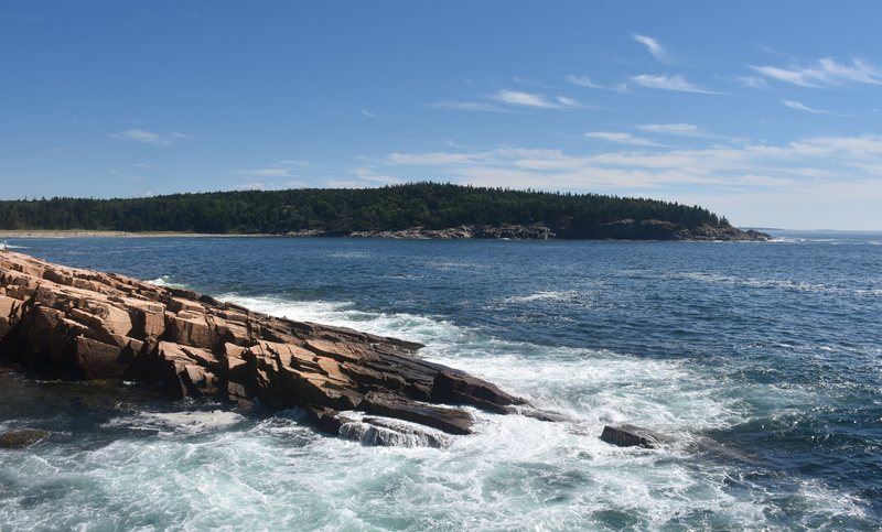 Rock Climbing Photo: Acadia coastline