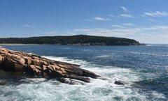Rock Climbing Photo: Acadia coastline